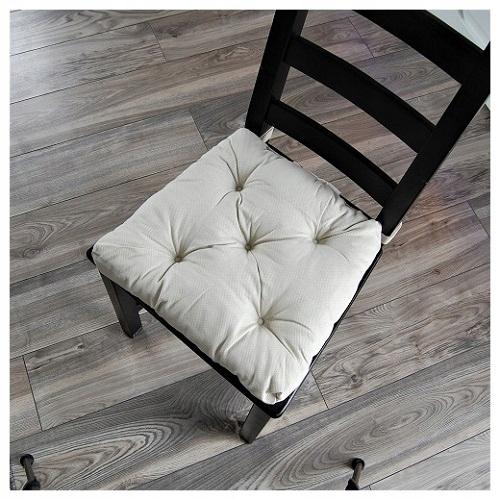 Poduszka siedzisko na krzesło ikea wiązana na rzep