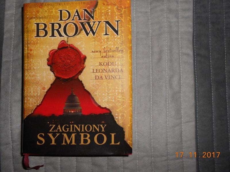 ZAGINIONY SYMBOL - DAN BROWN --- stan idealny