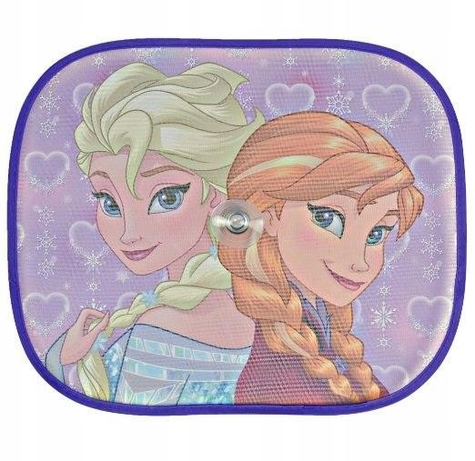 Osłona przeciwsłoneczna 2 szt FROSEN Elsa/Anna