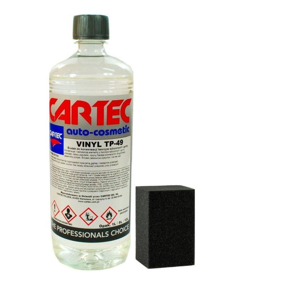 Cartec Vinyl TP-49 do plastiku i gumy 1l+aplikator