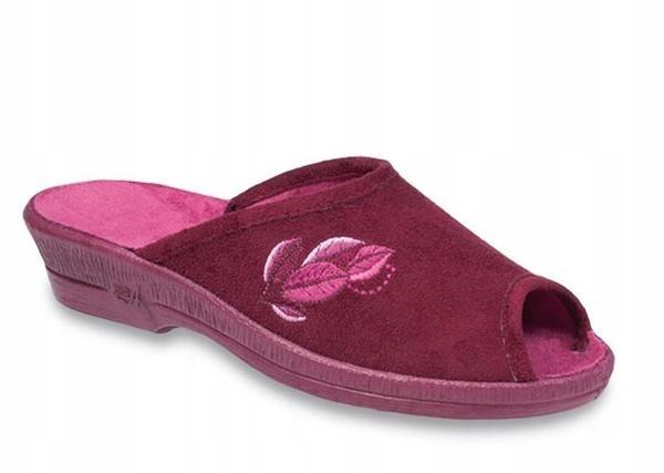 Pantofle kapcie klapki damskie Befado 581/193 R 38
