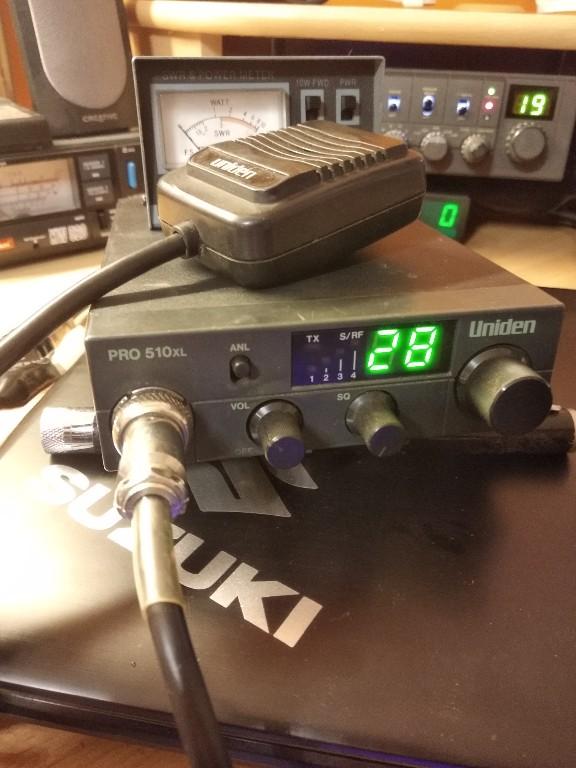 uniden cb radio 510 pro starsza wersja 99 rok