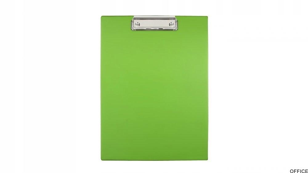 Deska z klipsem A4 grass BIURFOL KKL-01-02 (pastel