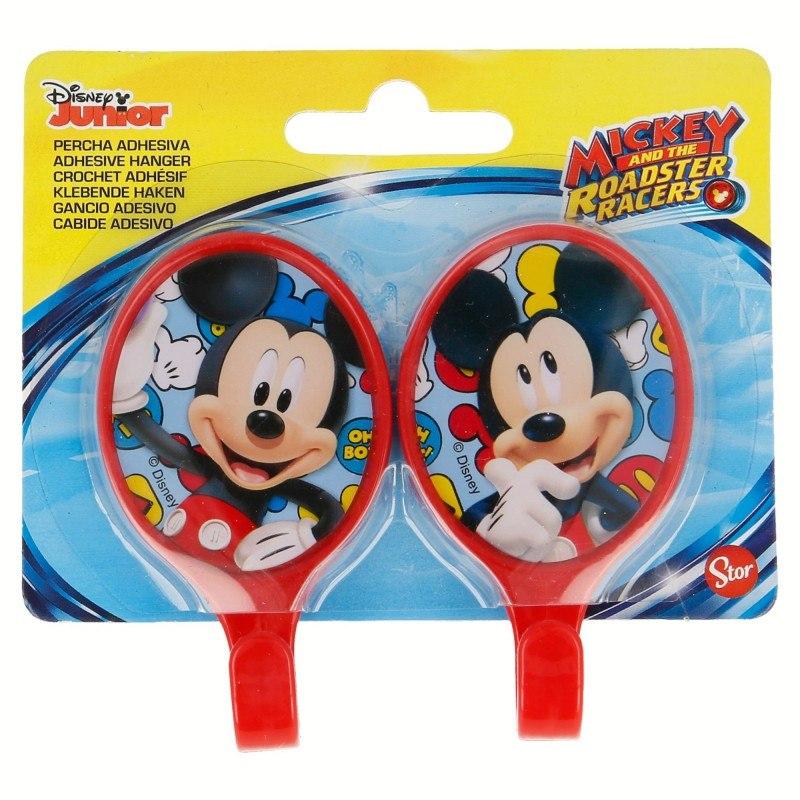 Mickey Mouse - Wieszaki / haczyki (2 szt)