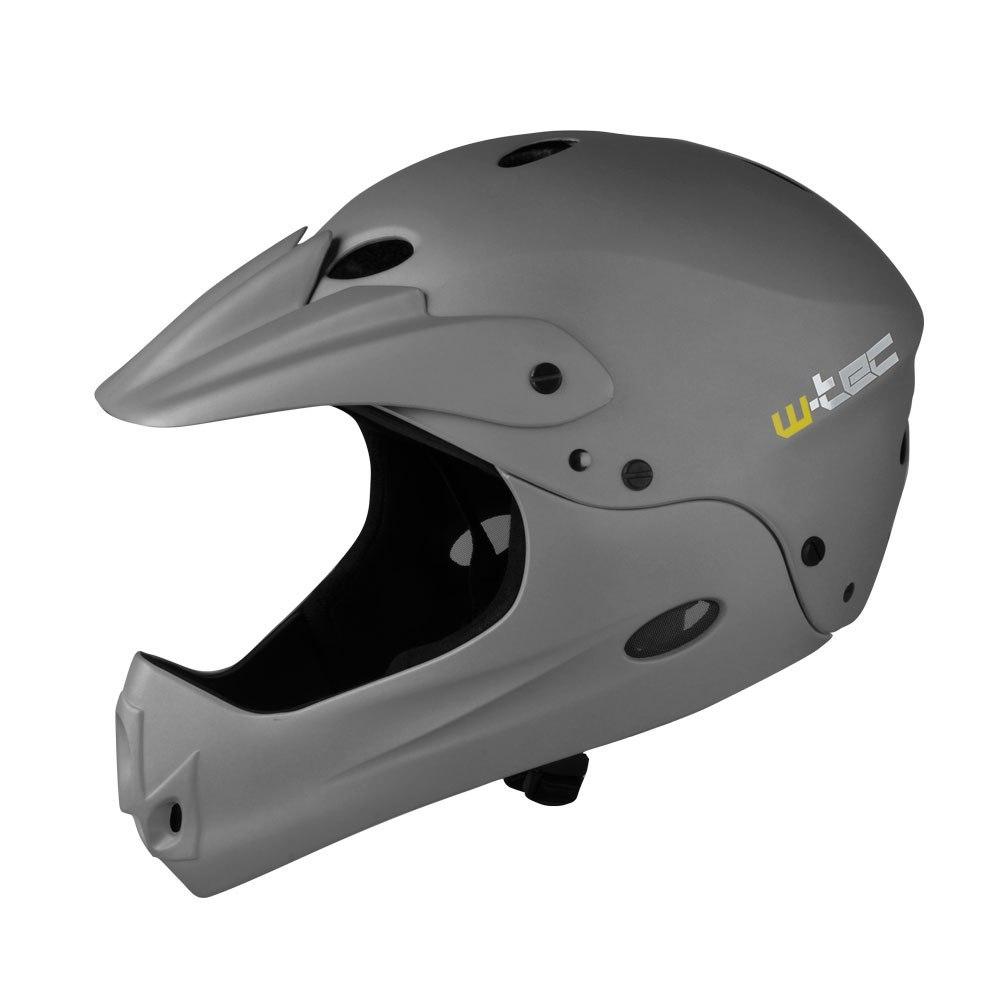Kask downhillowy W-TEC Downhill - Kolor Ciemny sza
