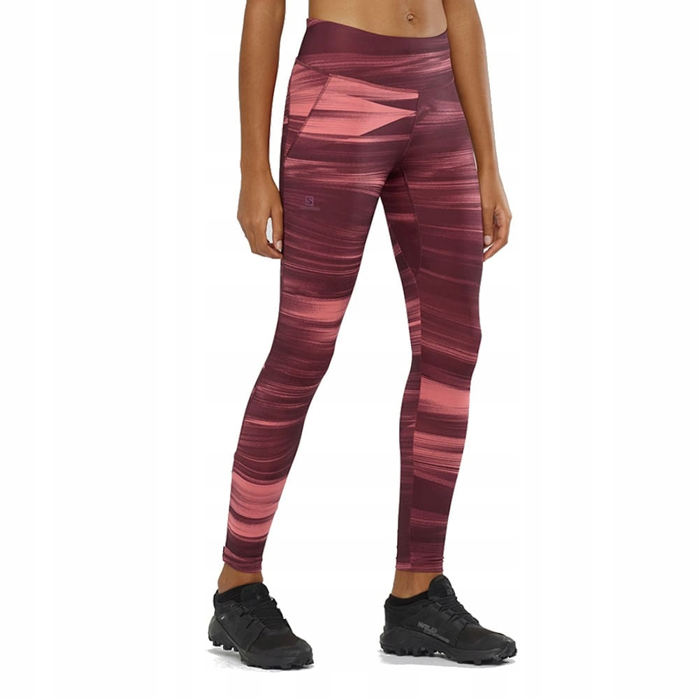 Legginsy Salomon Agile Long Tight LC1378600 S