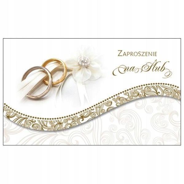 Zaproszenie na Ślub Ś27