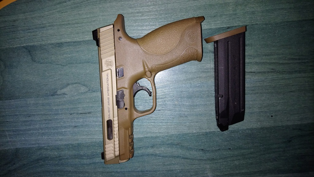 Pistolet ASG Smith & Wesson Licensed M&P 9