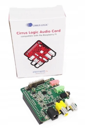 Cirrus Logic Audio Card Karta Dźwiękowa Raspberry