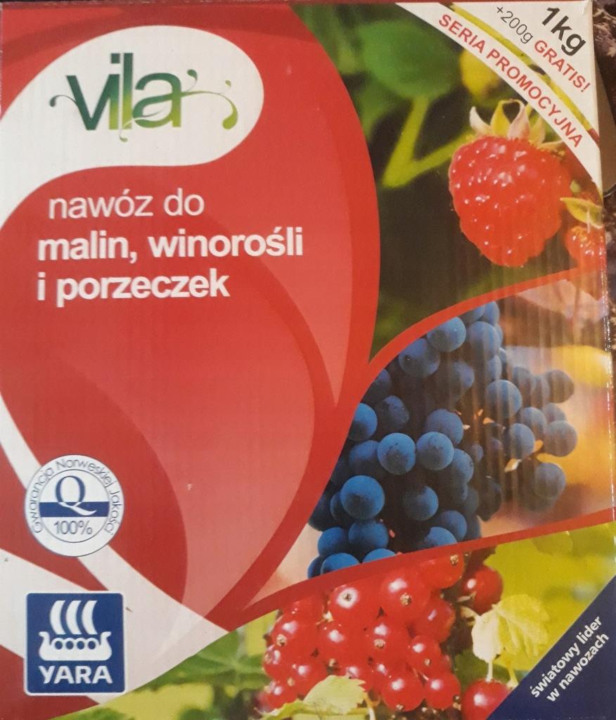 VILA Nawóz do malin winorośli i porzeczek 1,2 kg