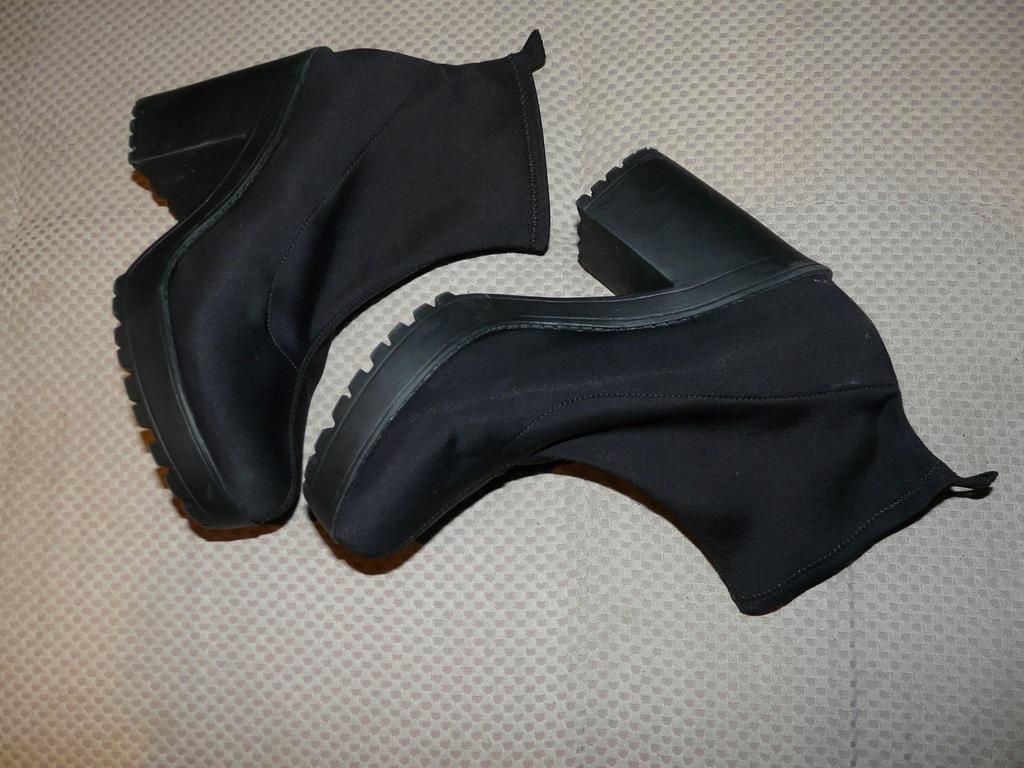 Czarne botki H&M 41