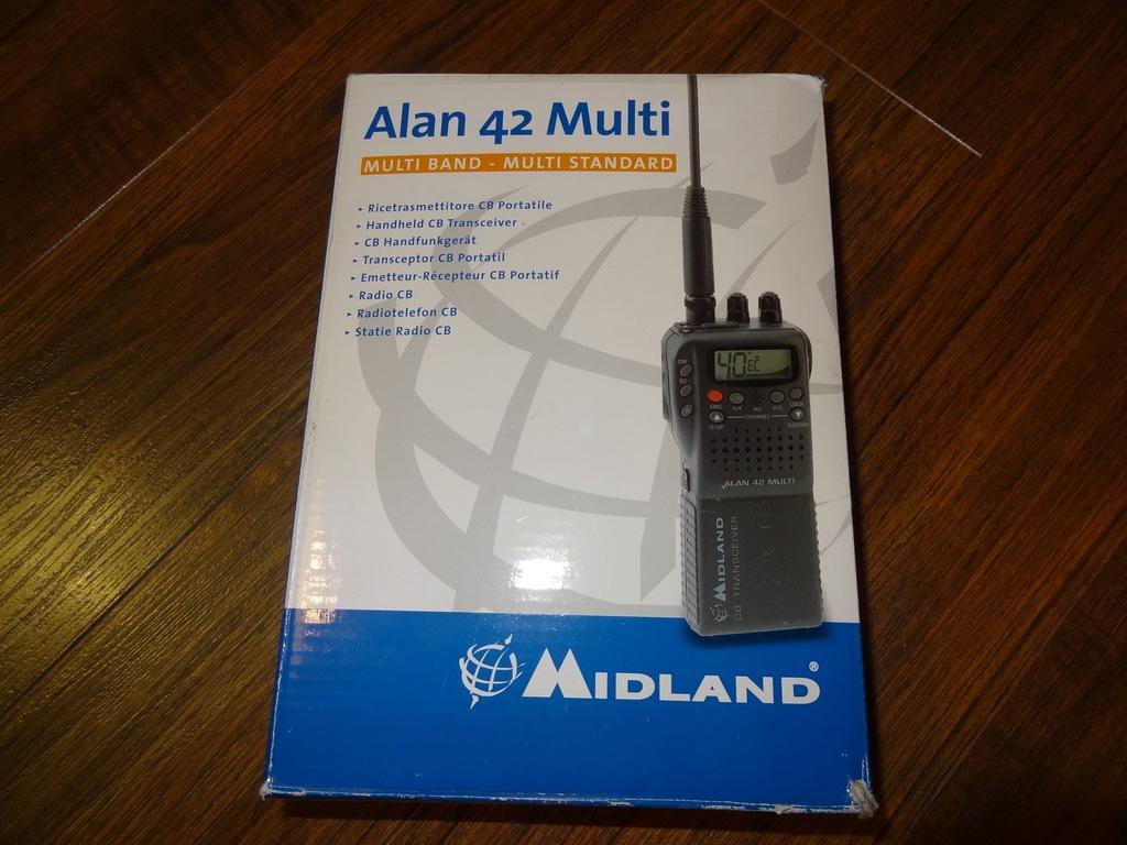 Midland Alan 42 Multi radio CB + antena Wilson LW