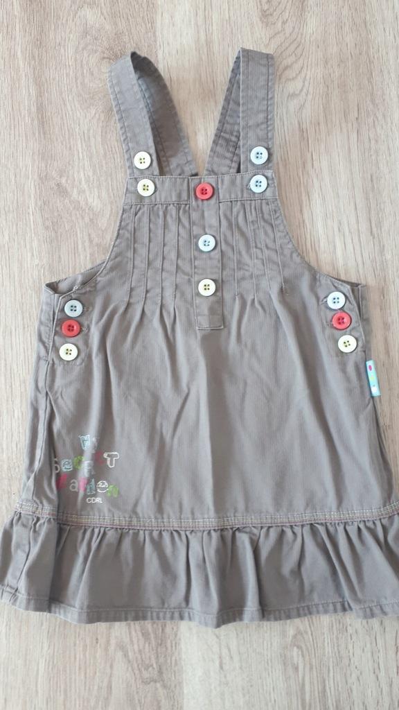 Sukienka spódniczka ogrodniczka COCCODRILLO 86