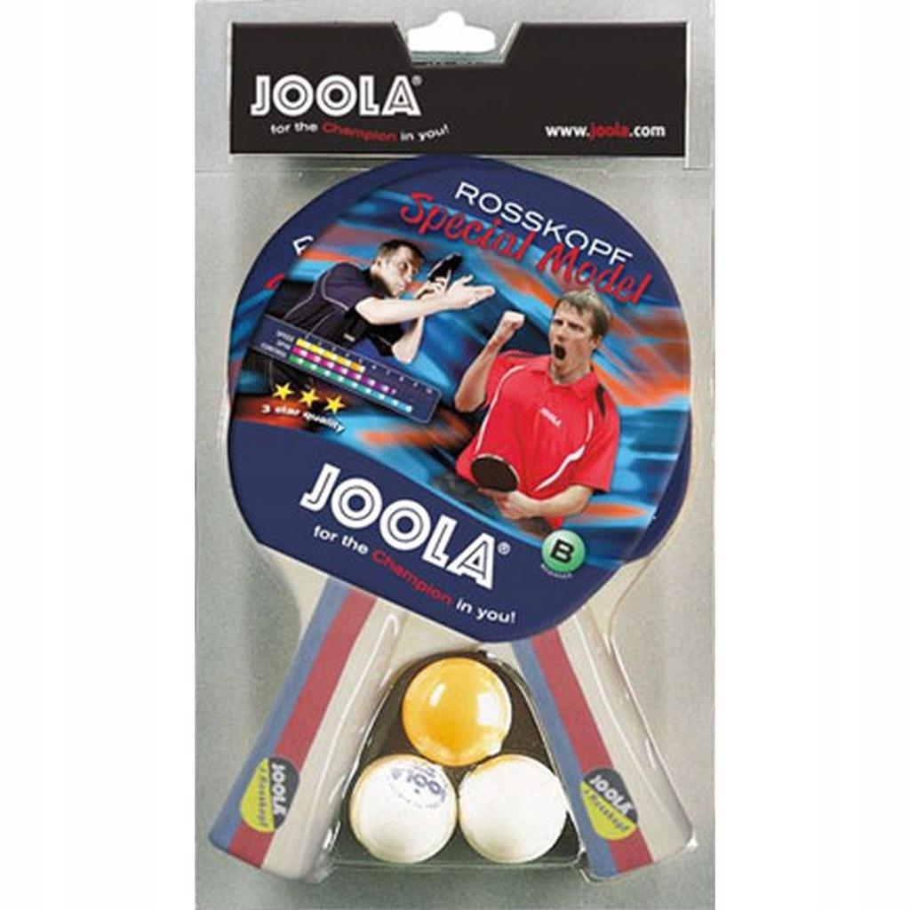 Zestaw do tenisa stołowego JOOLA 2 rakietki 3 piłe