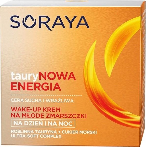 Soraya Taurynowa Energia Wake-Up Krem na młode zma