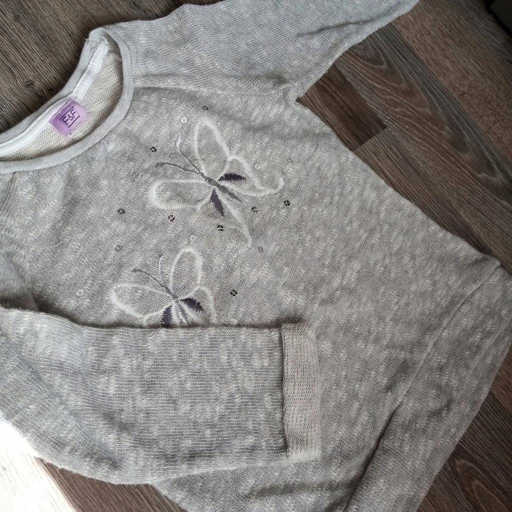 Sweter sweterek bluzka 3-4 lata, 104 cm F&F