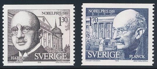 SZWECJA 1978 NOBLIŚCI Michel 1051/1052 ** BCM