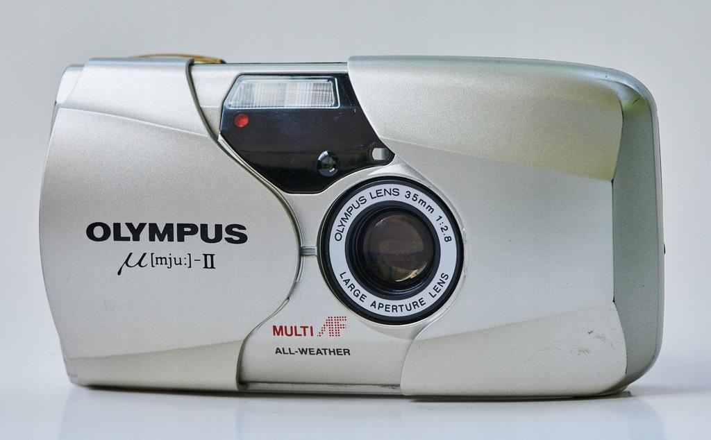 Aparat analogowy Olympus mju II 35mm f2,8