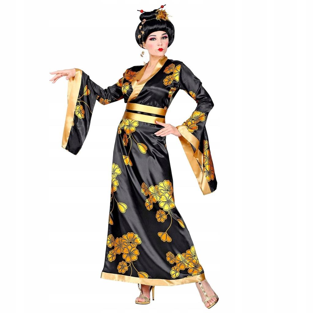 WIDMANN 01532 Womens Geisha Costume Size M BlackGo