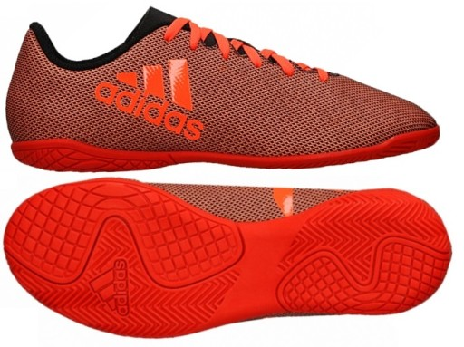 Buty adidas JR X 17.4 IN S82409 Piłka Nożna, Buty, Halowe