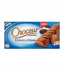 Choceur Cookies &Cream 200g