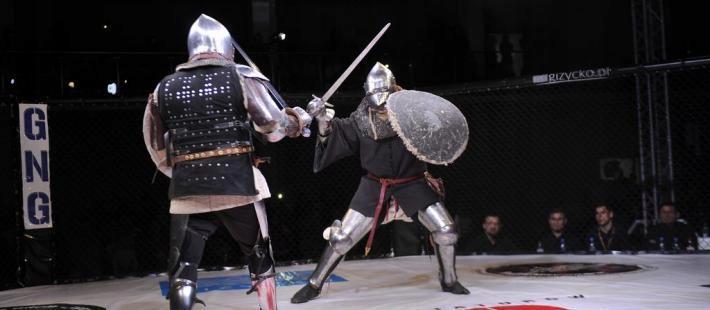 Udział w walce rycerskiej z uczestnikiem Fame mma