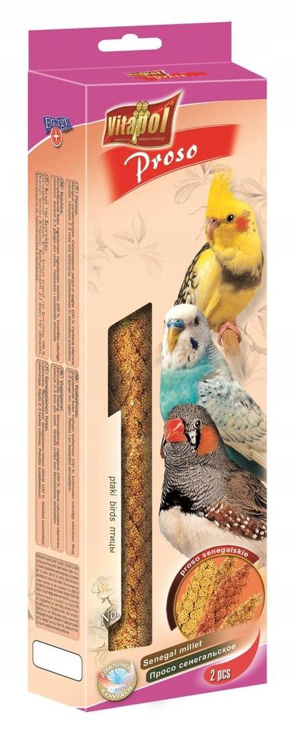 Proso Senegalskie dla ptaków Vitapol 100g