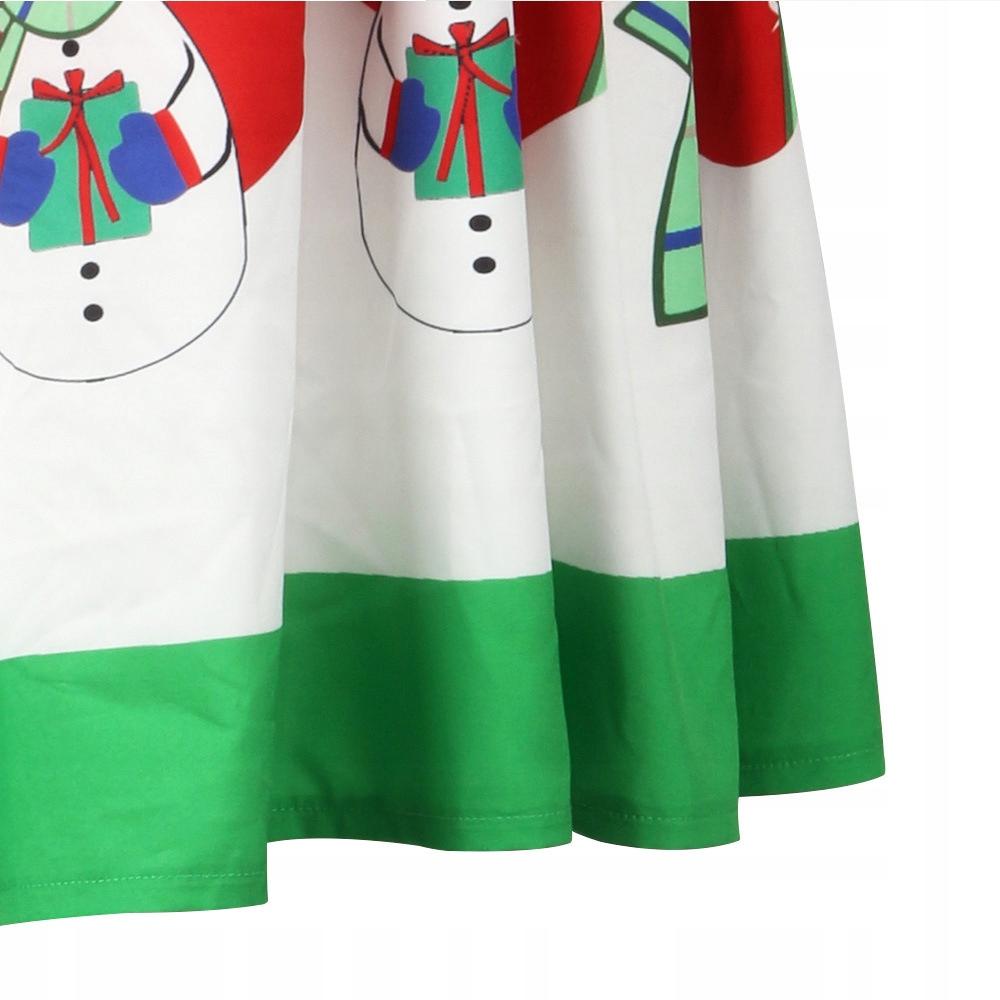 Taliowana spódnica motyw świąteczny prezent XL 7699219702
