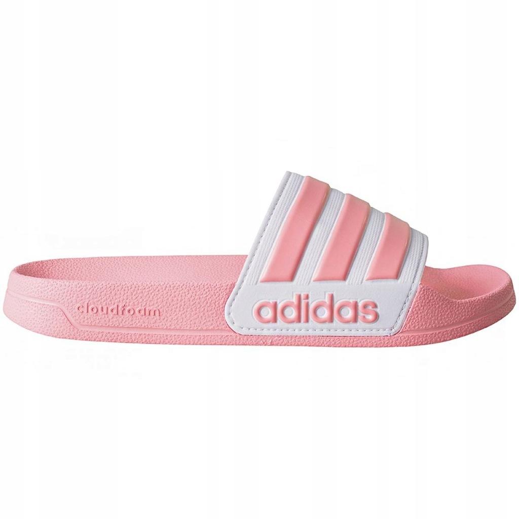 Różowe Inny materiał Buty Sportowe Adidas r.40,5