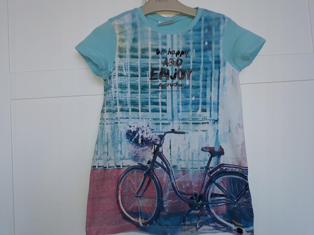 COCODRILLO 128 8y bluzka rower