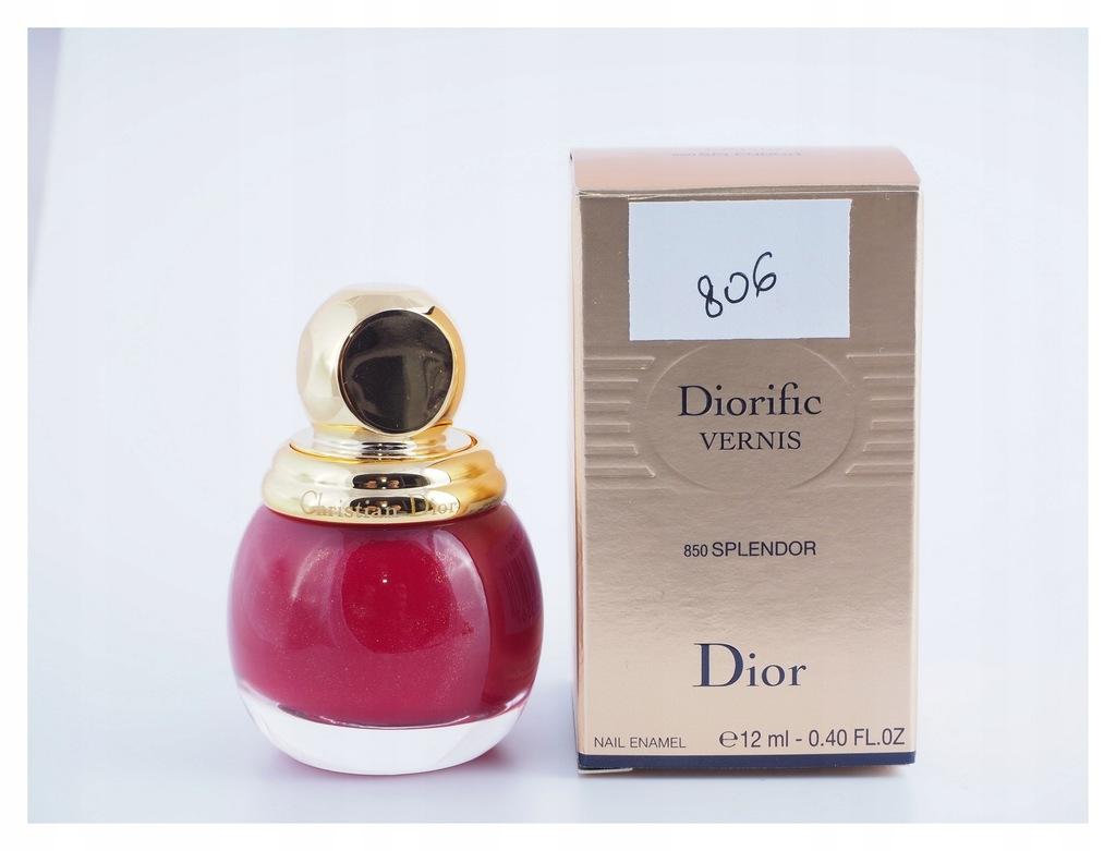 806 Dior - 850 Splendor lakier do paznokci
