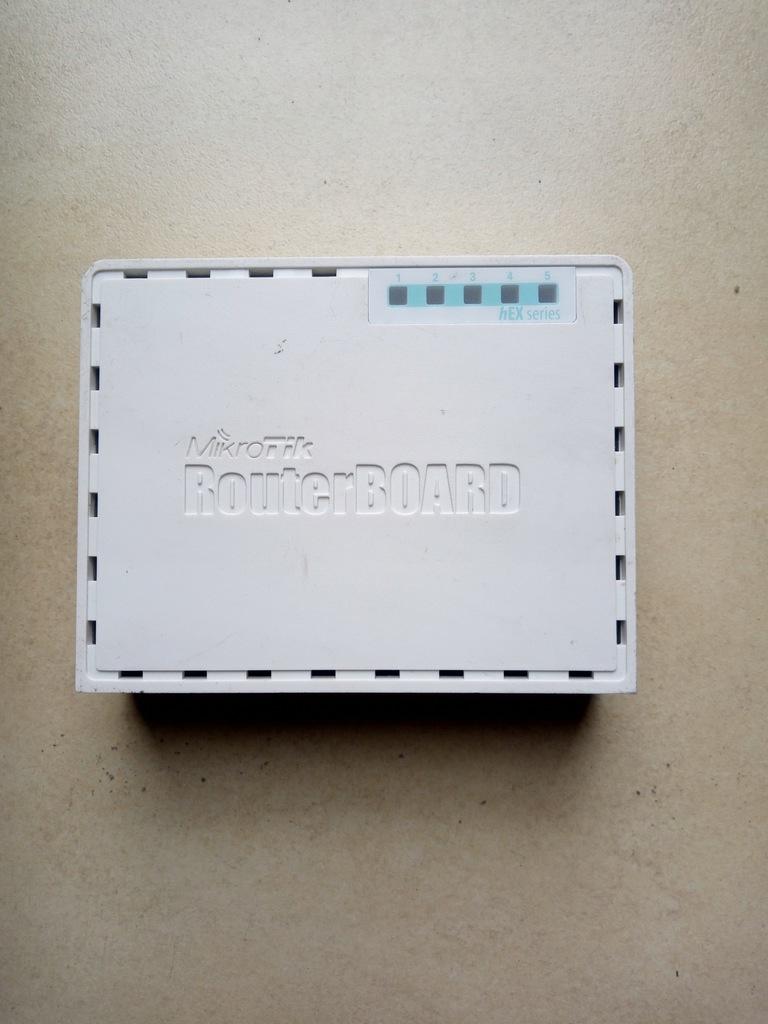 MikroTik heX lite RB750r2 sprzęt używany 100% spr.