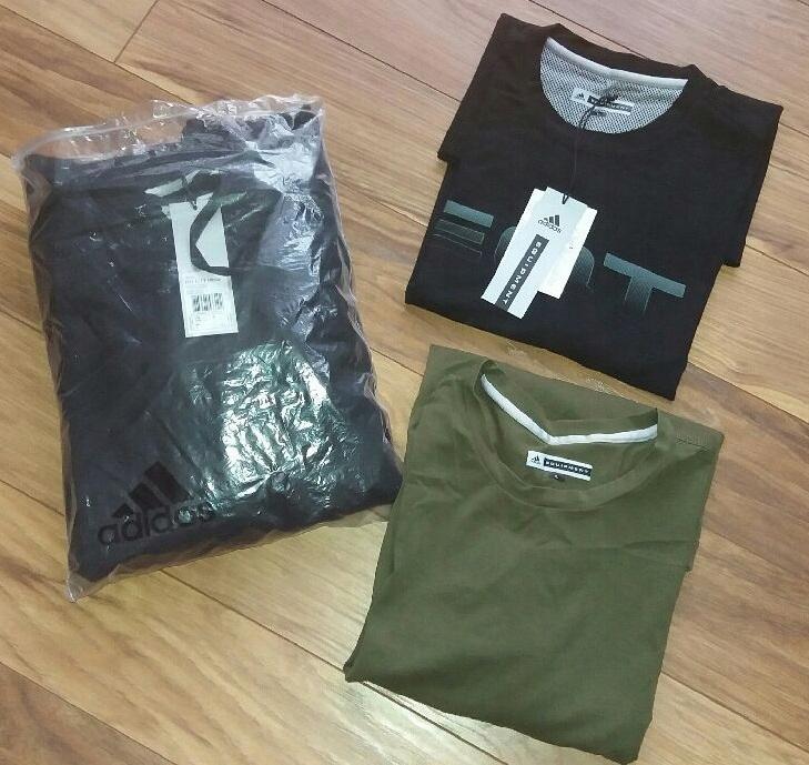 Zestaw adidas Bluza Koszulki Equipment Nowe - L