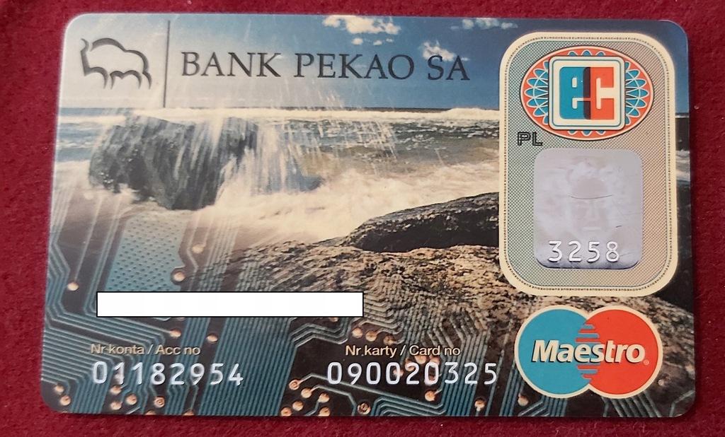 Karta Maestro BANK PEKAO S.A. - 01