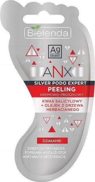 BIELENDA ANX Silver Podo Expert peeling do stóp