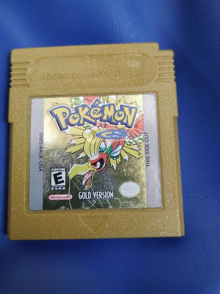 Pokemon Gold Angielska wersja Oryginał Game boy