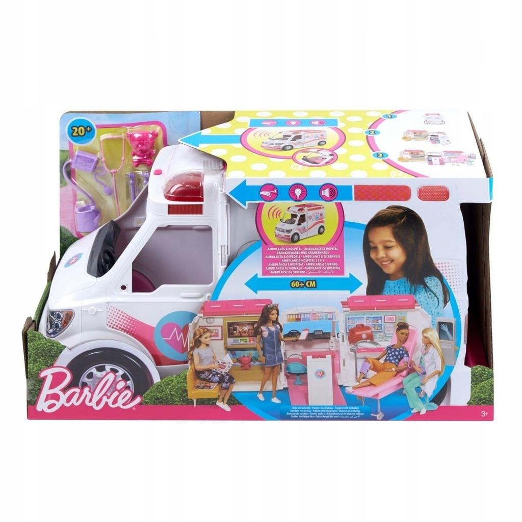 Mattel Karetka Barbie - Mobilna klinika