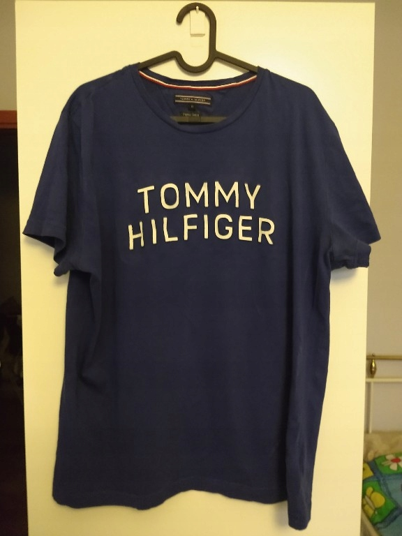 Koszulka Tommy Hilfiger Niebieska XL