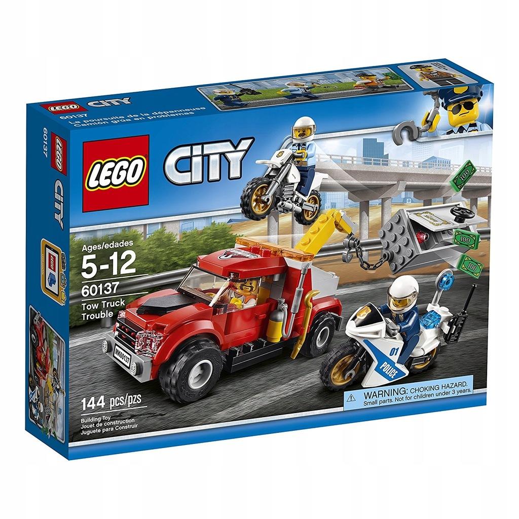 LEGO 60137 CITY Eskorta Policyjna!