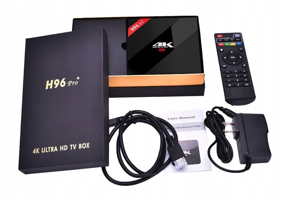 Smart TV Box H96 PRO+ S912 Android 7.1 3/32GB 4K