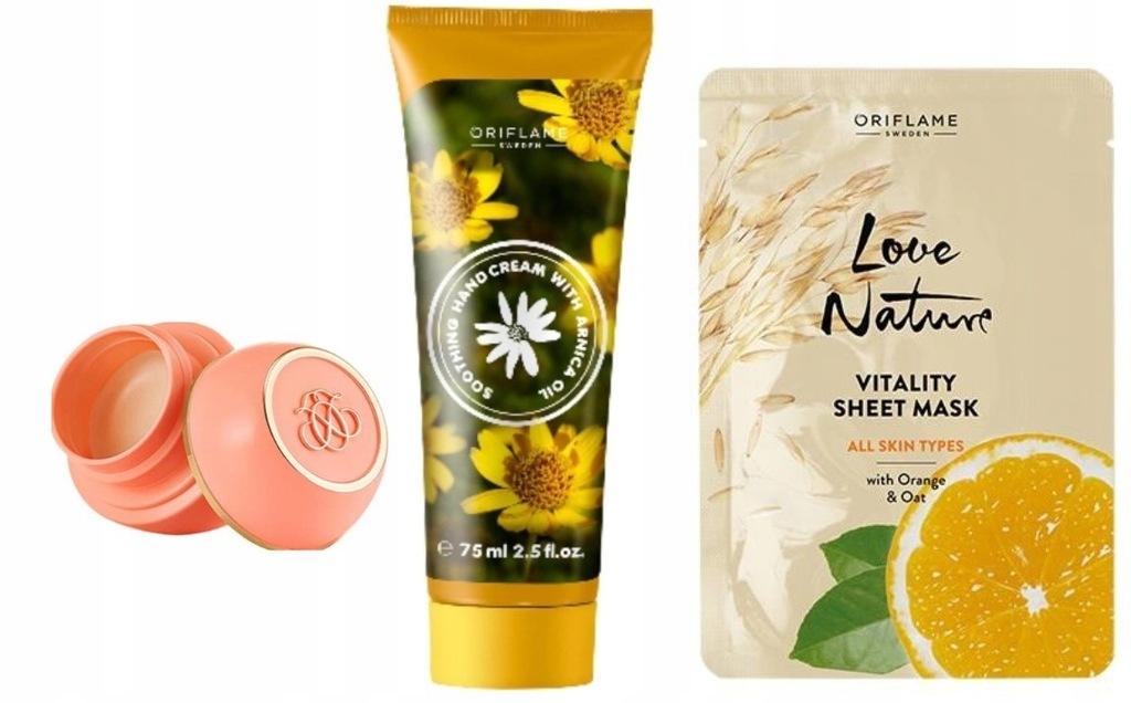 Oriflame Zestaw 3 produktów kosmetyków