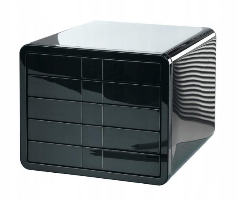 Zestaw 5 szufladek HAN iBox ABS A4 czarny