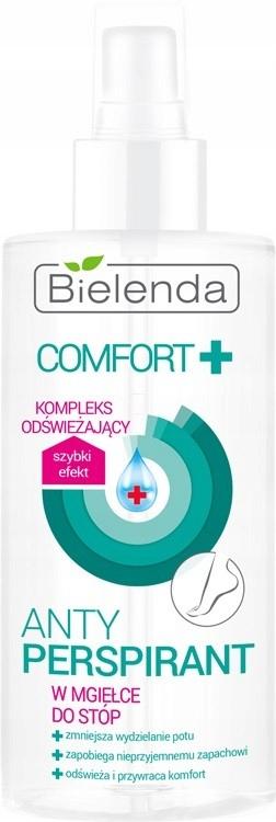 Bielenda Comfort+ Antyperspirant w mgiełce dp stóp