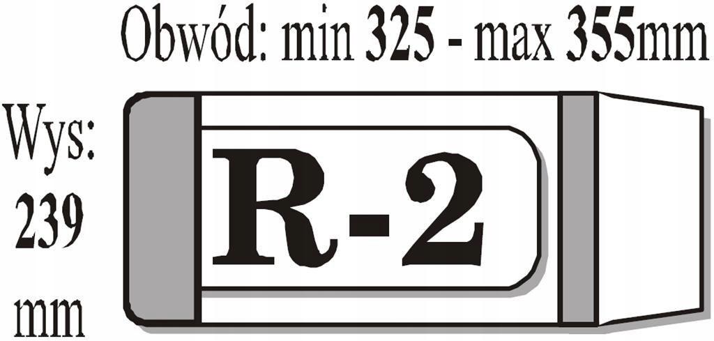 Okładka książkowa regulowana R2 (50szt) IKS