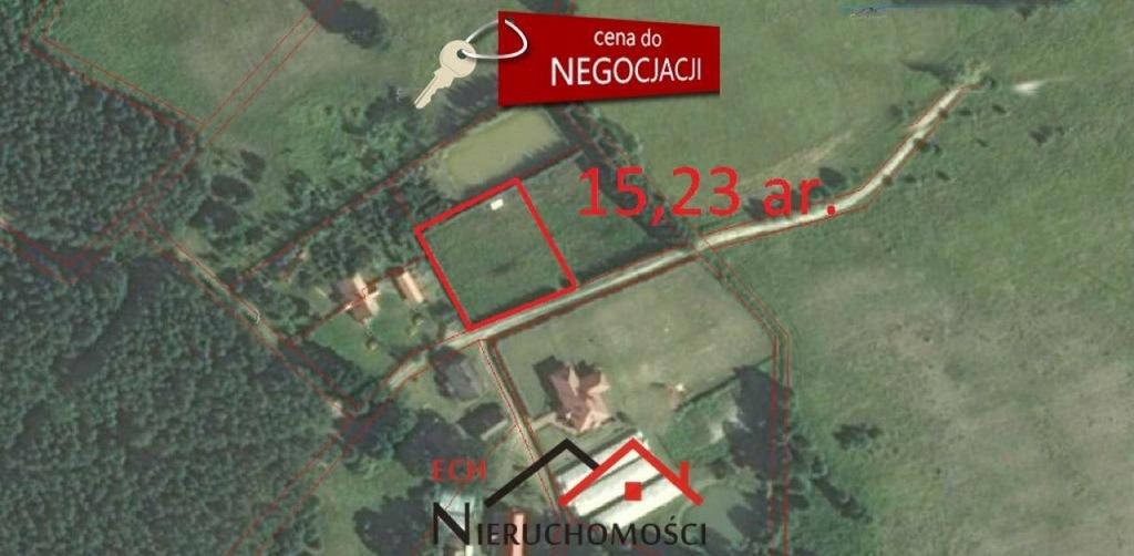 Działka, Rogi, Lubniewice (gm.), 1523 m²