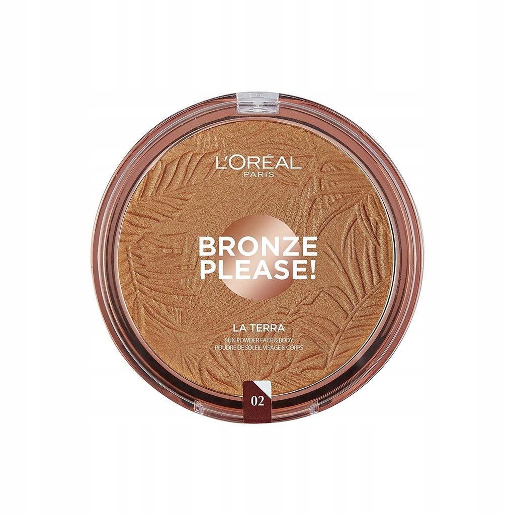 L'Oreal Bronze Please La Terra bronzer 02 Capri Na