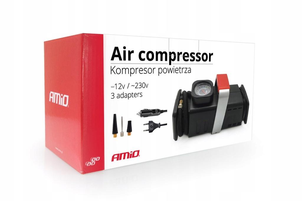 01134 Kompresor samochodowy 12V/230V Acomp-02