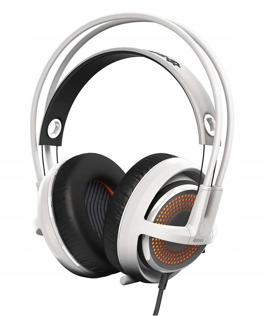 Słuchawki dla graczy Siberia 350 białe Steelseries