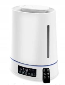 Ultradzwiękowy nawilżacz powietrza 4L JONIZACJA
