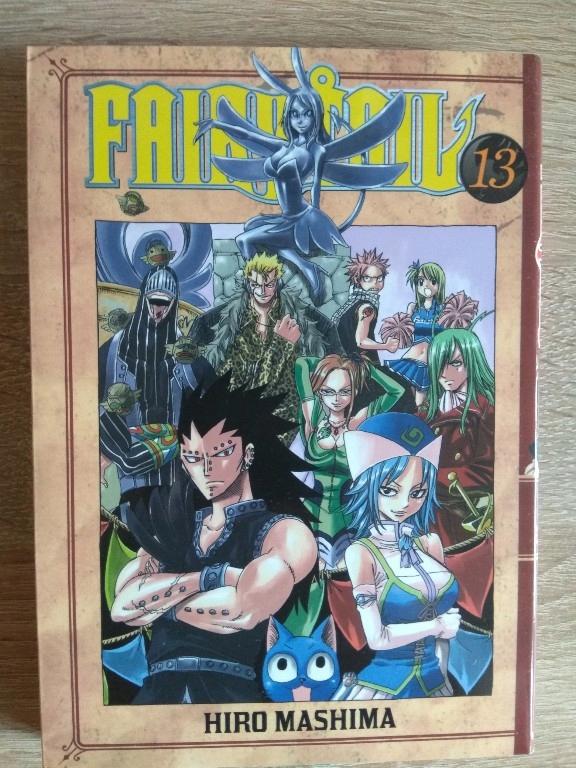 Fairy Tail tom 13